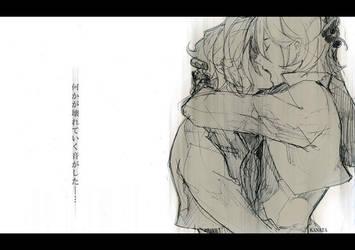lockon and allelujah by kujou-kanata