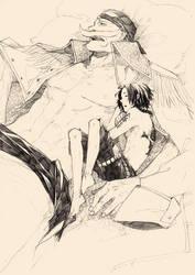 have a nap by kujou-kanata