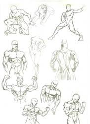 Anatomy Study 1 by marvelmania
