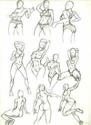 Anatomy Study 8 by marvelmania