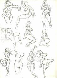 Anatomy Study 9 by marvelmania