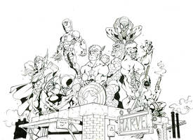 Marvel Characters by marvelmania