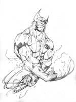 Ultimate Wolverine by marvelmania