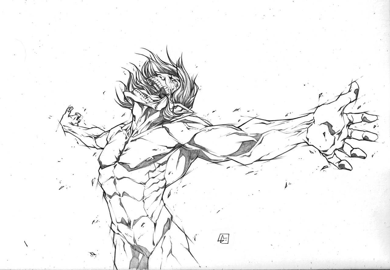 Titan Attack! by marvelmania