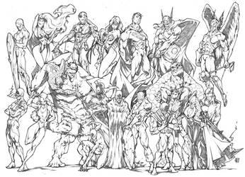 MY FAVORITE AMERICAN SUPER HEROES by marvelmania