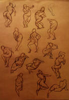 Life Drawing 16 by marvelmania