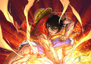 Monkey DLuffy - Gear by marvelmania