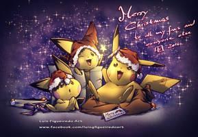 Pokemon Christmas 2016 by marvelmania