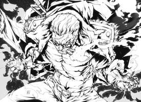 SMOKER One Piece by marvelmania