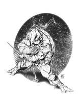 RAPHAEL from TMNT by marvelmania