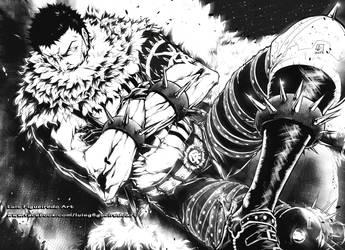CHARLOTTE DOGTOOTH/KATAKURI  One Piece by marvelmania