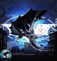 BATMAN SHIRT commission color by marvelmania
