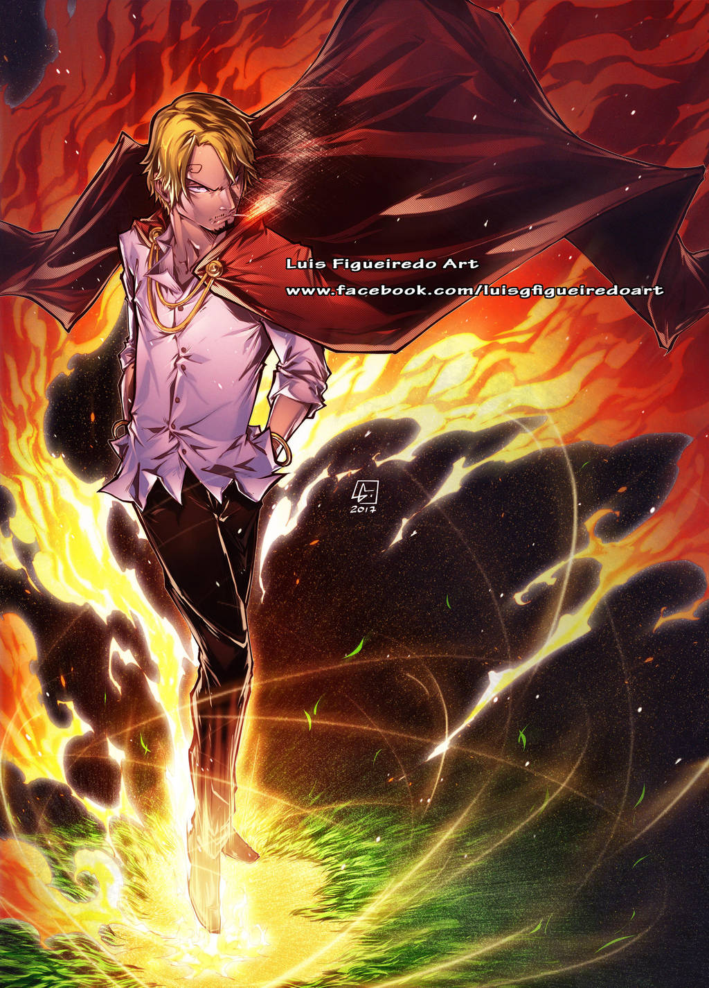 VINSMOKE SANJI from One Piece colors by marvelmania on ...