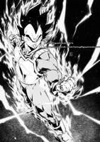 VEGETA Dragon Ball Super by marvelmania