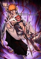 ICHIGO Soul Forge Shinigami color by marvelmania
