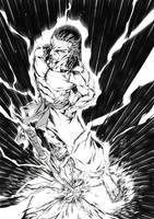 Samurai Kyooshi Commission by marvelmania