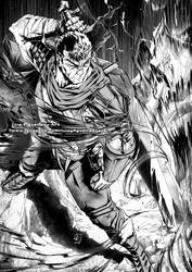 GUTS the Black Swordsman from Berserk by marvelmania