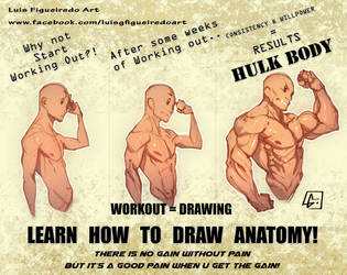 LEARN HOW TO DRAW ANATOMY by marvelmania