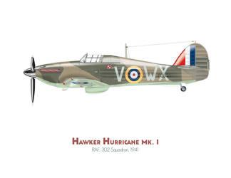 Hawker hurricane Mk. I by MercenaryGraphics
