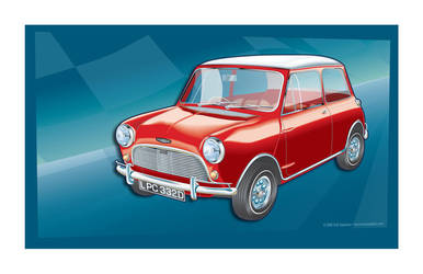 1964 Mini Cooper by MercenaryGraphics