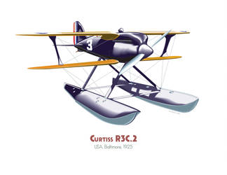 Curtiss R3C-2 by MercenaryGraphics