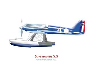 Supermarine S.5 by MercenaryGraphics
