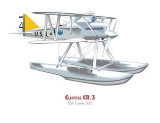 Curtiss CR-3 by MercenaryGraphics