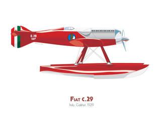 Fiat c.29 by MercenaryGraphics