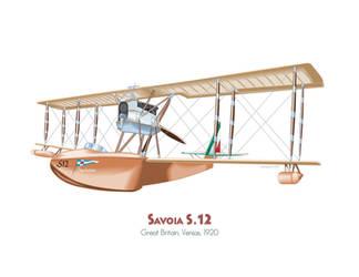 Savoia S.12 by MercenaryGraphics