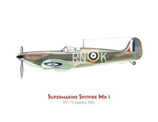 Supermarine Spitfire Mk.I by MercenaryGraphics