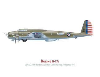 Boeing B-17c by MercenaryGraphics