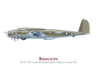 B-17D The Swoose by MercenaryGraphics