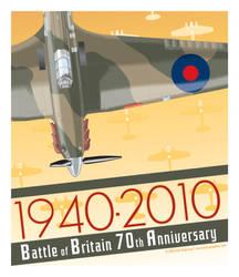 Battle of Britain 70th by MercenaryGraphics