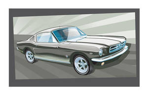 65 Ford Mustang Fastback by MercenaryGraphics