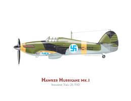 Hawker Hurricane hc-452 by MercenaryGraphics