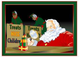 Santa downsize by MercenaryGraphics