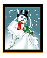 Bad Snowman by MercenaryGraphics