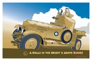 Rolls Royce Silver Ghost Armoured Car Mk I v2 by MercenaryGraphics
