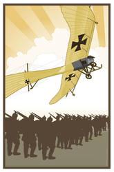 Die Fliegertruppen Taube by MercenaryGraphics