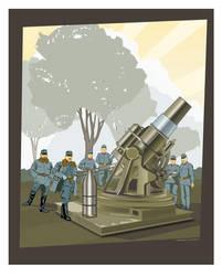 Skoda 30.5 cm Morser M. 11 by MercenaryGraphics