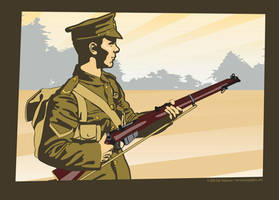 Tommy British Infantryman 1914 by MercenaryGraphics