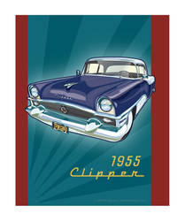 55 Packard Clipper by MercenaryGraphics