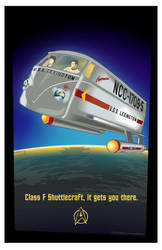 Type-F Shuttlecraft Split Window by MercenaryGraphics