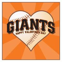 SF Giants Valentine by MercenaryGraphics