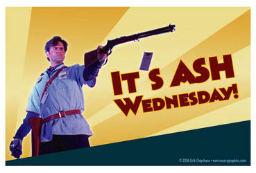 Ash Wednesday by MercenaryGraphics