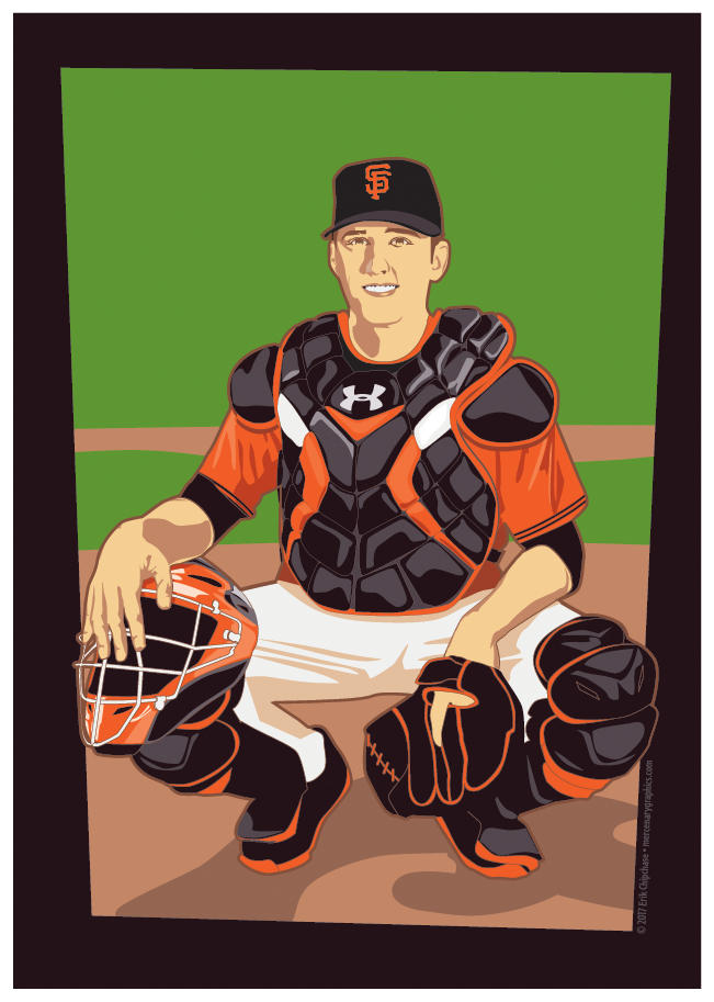 Buster Posey by MercenaryGraphics