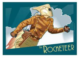 Rocketeer Banner by MercenaryGraphics
