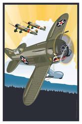 Granville P-45 1937 by MercenaryGraphics