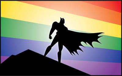 Bat-Pride by Mercenarygraphics by MercenaryGraphics