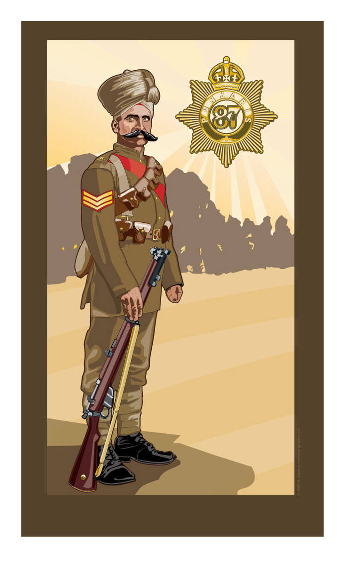 Havildar 87th Punjabis by MercenaryGraphics